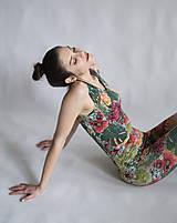 Iné oblečenie - FLOWER POWER OVERAL - 10502063_