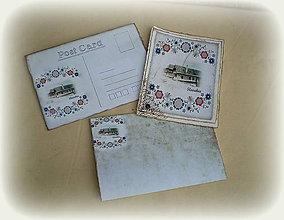 Papiernictvo - Pohľadnica s obálkou - 10502230_