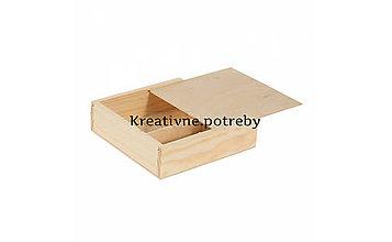 Polotovary - Krabička na fotky+USB - 10503039_