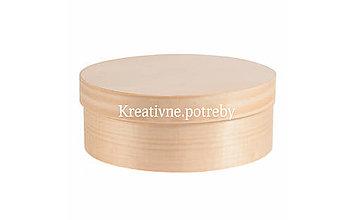 Polotovary - Okrúhla krabička 20cm - 10503104_