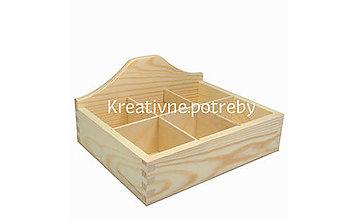 Polotovary - Krabica 6 priečinkov otvorená - 10503187_