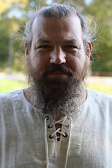 Oblečenie - Konopná košeľa Horislaw s viazaním - 10505629_
