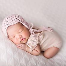 Detské čiapky - Čiapka pre novorodenca - 10505820_