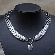 Náhrdelníky - Na obojku - náhrdelník z chirurgické oceli - 10505934_