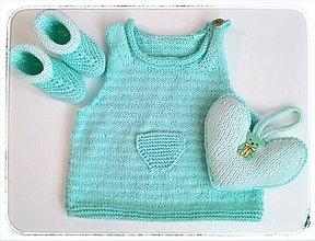 Detské súpravy - Mint set pre baby - 10506542_