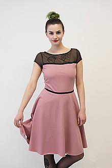 Šaty - VERA Puntíkovaná - šaty - 10504188_