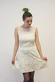Šaty - VERA Diamantová - šaty - 10504226_