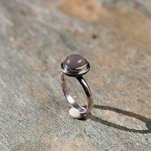 Prstene - Náušnice zo striebra - Mesačný svit - 10507057_