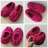 Obuv - Vyhrievané papuče /Papuče na ohrievanie v mikrovlnke TERMOFOR na nohy z obilia - 10506475_