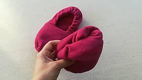 Obuv - Vyhrievané papuče /Papuče na ohrievanie v mikrovlnke TERMOFOR na nohy z obilia - 10506480_
