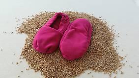 Obuv - Vyhrievané papuče /Papuče na ohrievanie v mikrovlnke TERMOFOR na nohy z obilia - 10506481_