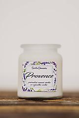 Vonná sviečka zo sójového vosku v skle - Provence - 250g/70hod