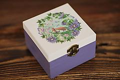 Krabičky - Drevená krabička - šperkovnica - Domček - 10507237_