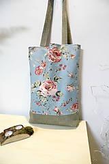 Nákupné tašky - Nákupná taška romantik 2. - 10506465_