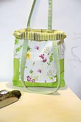 Nákupná taška jarná lúka