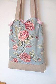 Nákupné tašky - Nákupná taška romantik - 10505639_