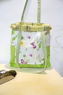 Nákupné tašky - Nákupná taška jarná lúka - 10506587_