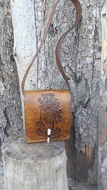 Iné tašky - Kožená taška - 10505839_