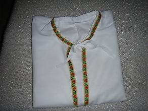 Košele - Pánska krojová košeľa - okolie Piešťan - 10506376_