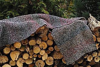 Úžitkový textil - RUČNĚ TKANÝ KOBEREC - PREDLOŽKA 1 - 10504570_