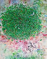 Obrazy - V korune stromu - 10506305_