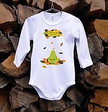 Detské oblečenie - Detské body - Hruška - 10505853_