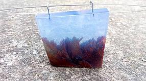 Náhrdelníky - Prívesok Sea Floor Blue - 10507710_