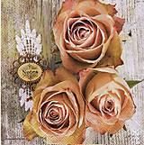 Papier - ruže - 10504429_