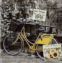 Papier - retro bicykel - 10504442_