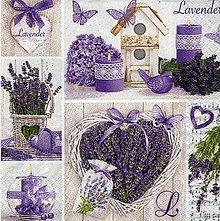 Papier - levandule - 10504501_