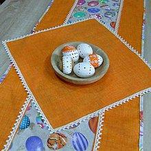Úžitkový textil - JARMILA - malý štvorcový obrúsok 40X40 - 10506927_
