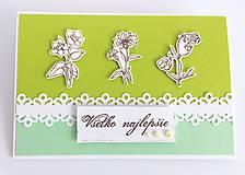 Papiernictvo - Jarná  zelená I - 10505903_