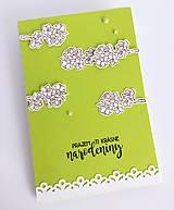 Papiernictvo - Jarná  zelená II - 10505951_