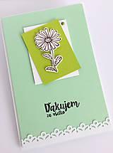 Papiernictvo - Zelená pohľadnica - 10505974_