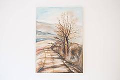 Kresby - Obraz: Zimná nálada - 10506595_