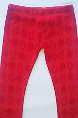 Detské oblečenie - Legínky jabĺčka - 10505526_