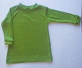 Detské oblečenie - Merino termo nátelník (4 - 6 rokov - Červená) - 10504777_