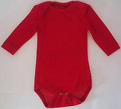 Detské oblečenie - Detské body bambus - 10506109_