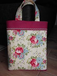 Nákupné tašky - Nákupkotaška Rose - 10506084_