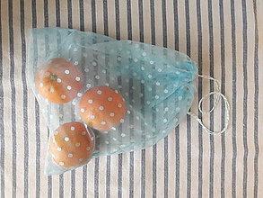 Nákupné tašky - Eko vrecko / eko sáčok na ovocie a zeleninu stredné - 10503837_
