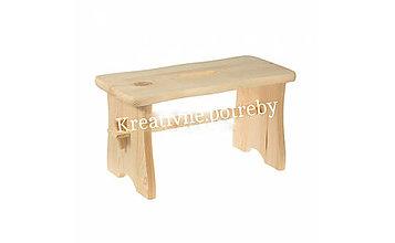 Polotovary - Drevený stolček - 10504672_