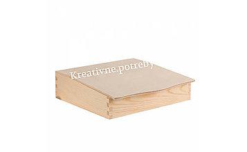 Polotovary - Drevený sekretárik - 10506218_