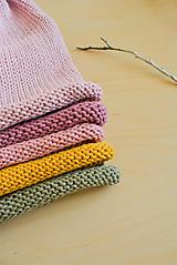 Čiapky - Hučka / kulich... 100% bavlna - 10508013_
