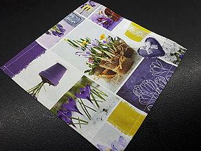 Úžitkový textil - Jarný set  (Prestieranie Love Garden 25×25 cm) - 10508685_
