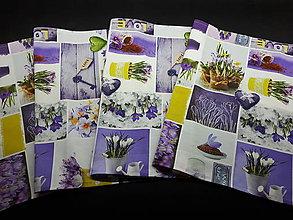 Úžitkový textil - Jarný set  (Stredový obrus Love Garden 136×40 cm) - 10508939_