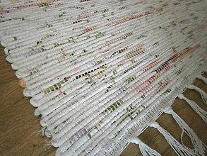 Úžitkový textil - tkany koberec melirkovany - 10510020_