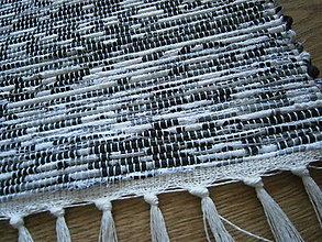 Úžitkový textil - tkany koberec melir - 10510030_