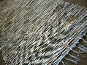 Úžitkový textil - tkany koberec melir - 10510041_