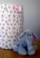 Detské doplnky - kôš na hračky - 10508813_
