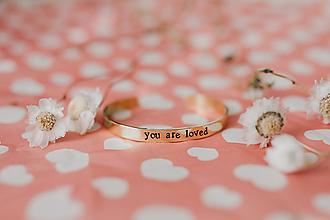 Náramky - you are loved - 10509329_